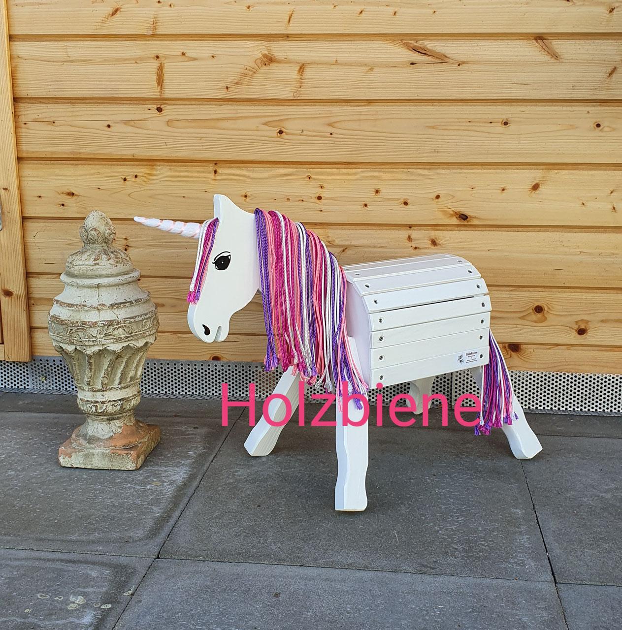 """Pony """"Dabby"""" Einhorn/Unicorn 34cm Stockmaß"""