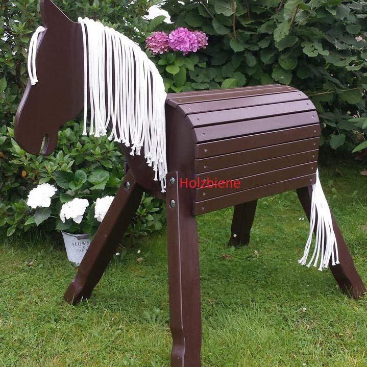 """Pony """"Lucky"""" einfarbig ab 70-100cm Stockmaß ohne Zubehör"""