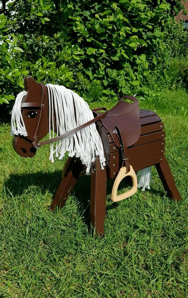 "Pony ""Dabby"" 34cm Stockmaß einfarbig, ohne Zubehör"