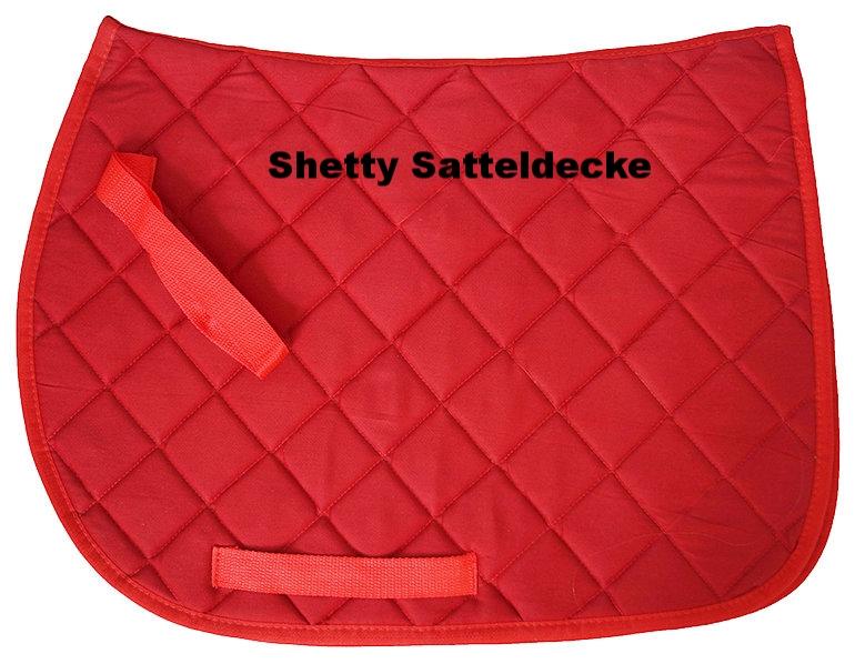 Satteldecke für Shettysattel