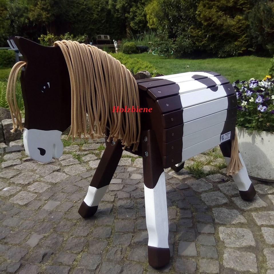 """Pony """"Spike"""" als kl.Donner  50cm inkl.Hufbem. Augen u Nüstern, Blässe"""