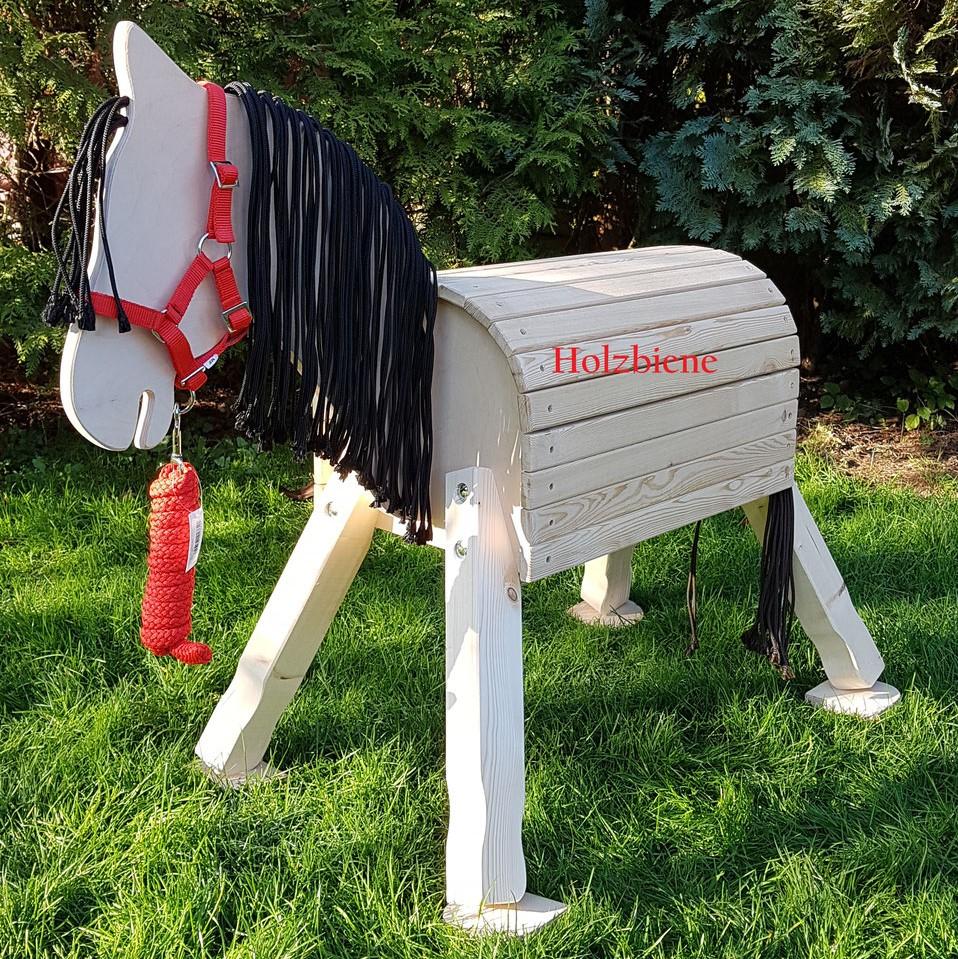 "Pony ""Lucky"" unbehandelt ab 70-100cm Stockmaß ohne Zubehör"